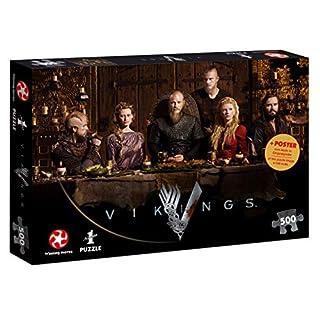 Puzzle Vikings Ragnar's Court Wikinger 500 Teile 48 x 34 cm