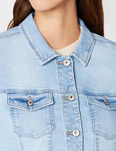 ONLY Damen Jeansjacke Onlnew WESTA Detail Jacket, Blau (Light Blue Denim) - 5