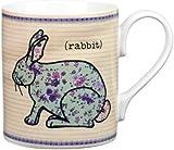 Queens Forest Friends Rabbit Mug