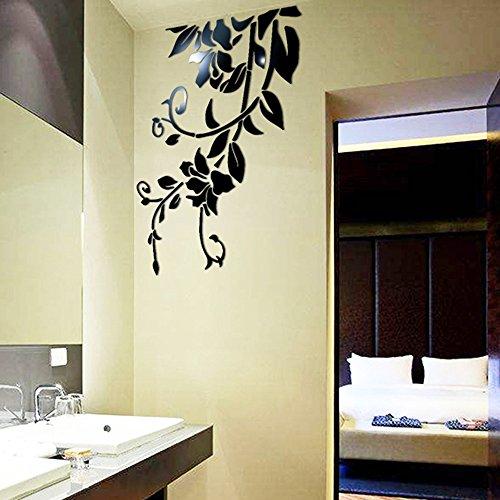 Zegeey 3D DIY Acryl Wandaufkleber Moderne Home Hotel Room Decor Aufkleber Dekoration