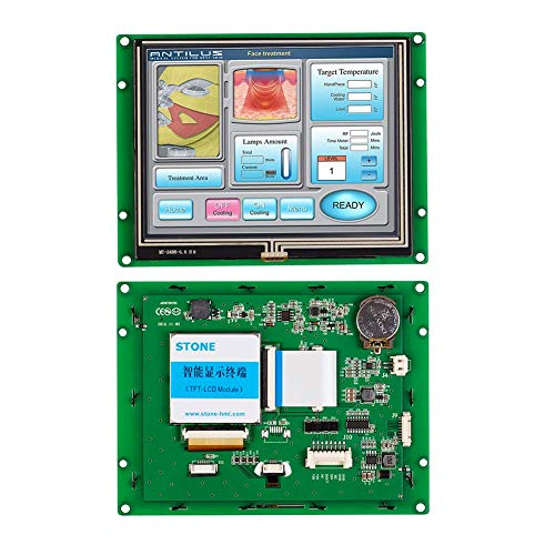 5,6 Zoll HMI eingebettete resistive Berührungsbildschirm mit UART serieller Schnittstelle für industrielle Steuerungen -
