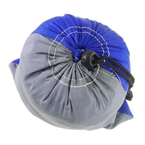 RocFitness® Hängematte aus 100% RipStop Nylon (Fallschirmseide) inkl. 2 Spezialschlaufen für besseren Halt - 7