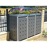 binto m lltonnenbox edelstahl m llbox system 13 garten. Black Bedroom Furniture Sets. Home Design Ideas