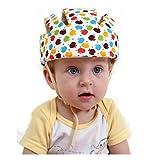 Eyourhappy Infant bambini casco di sicurezza Casco Cappello regolabile di sicurezza Imbracature Cap