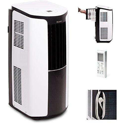 Gree Shiny 12000BTU GPC12AL-K3NNA1A - Aire acondicionado portátil,3,5kW, 1pieza, 390x820x405mm, color blanco