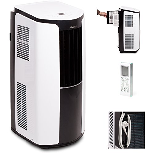 Gree Mobile climatisation Shiny 12000BTU climatique 3,5kW a, 1pièce, 390x 820x 405mm, blanc, gpc12al de k3nna1a