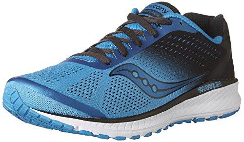 Saucony Breakthru 4, Zapatillas de Deporte para Hombre, Azul (BLU/Blk 2), 45 EU