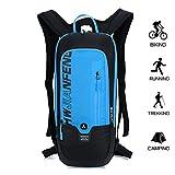Kleiner Fahrradrucksack Trinkrucksack Wasserdicht Rucksäcke Reisetasche für Wandern