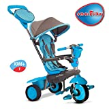 Smart - Triciclo Swing, Colore: Blu