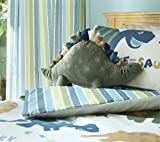 Catherine Lansfield Kids - Coperta per letto dei bambini, motivo: dinosauri, mehrfarbig, Cuscino