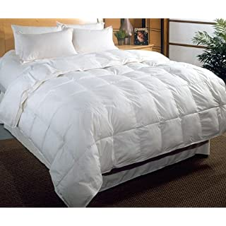 Viceroybedding Luxury Duck Feather and Down Quilt/Duvet - Double Size All Season (4.5 tog + 9 tog) Tog
