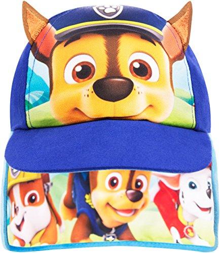 Paw Patrol Kappe Jungen Kinder Safari Sommer Hut Baseball Kappe Alter 1 bis 6 Jahre (3-6 Jahre, Blau) (Drei Jahre Alten Jungen)