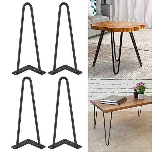 Tischbeine Set aus 4 Tischbeinen mit Gabeln, Drehbeine Two-rod Forcina Beine Tischfüße zum Herstellen von Möbeln aus Metall Ersatz Tischfüße Tischfüße Esszimmertisch