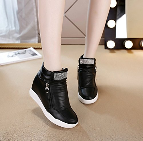 XTIAN - Pantofole a Stivaletto Donna Nero
