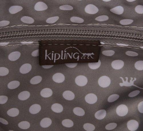Kipling Garan, Borsa A Tracolla Donna, Marrone (Monkey Brown), 35x26x17 cm Multicolore (Monkey Mania BR)