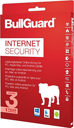 BullGuard Internet Security 2017 1 Jahr/3 Geräte (Win, MAC, Android)