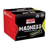 Why Madness Pre Workout 60 buste monodose da 5,4 gr Con Beta Alanina Citrullina e Taurina