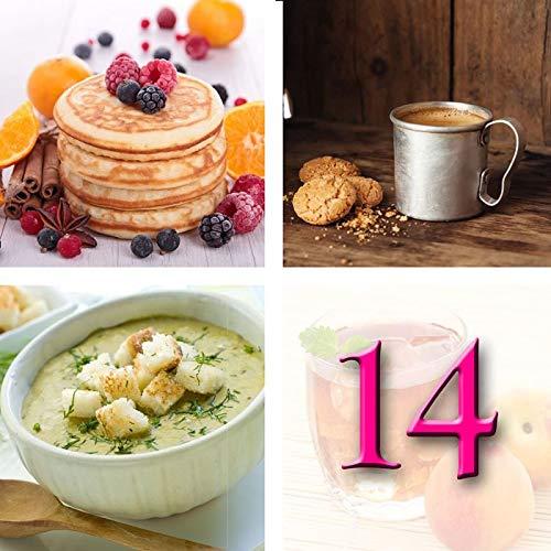 Régimen Adelgazante Hiperproteico Paquete 14 días 33 productos 1 coctelera y 1 guía de regalo – pérdida de peso optimizada en 2 semanas