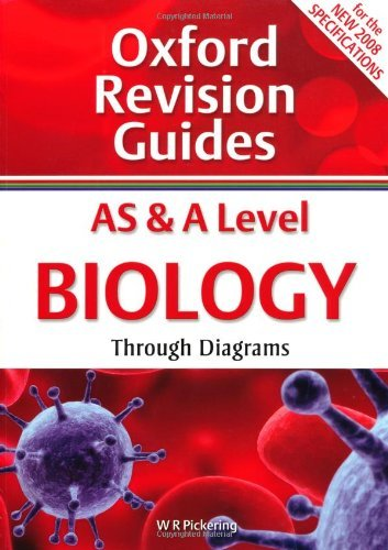 As & a Level Biology Through Diagrams. W.R. Pickering (Oxford Revision Guides) by Ron Pickering (2009-01-01)