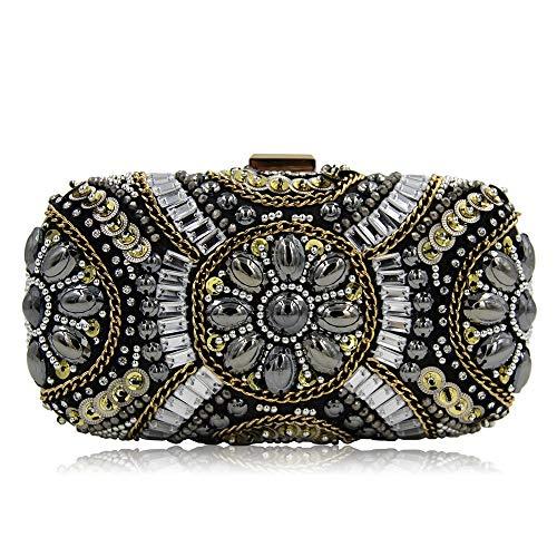 Peggy Gu Nacht Party Taschen Frauen Hand genäht Perlen Dinner Bag Schmuck Handtaschen Abend Kupplungen Geldbörsen - Hand Perlen Abend Handtasche
