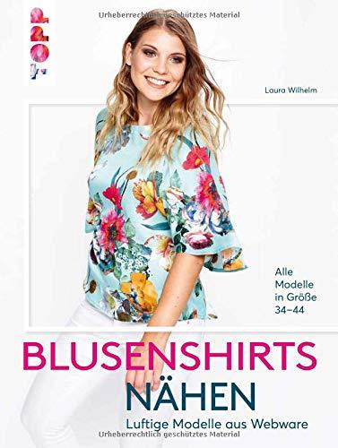Blusenshirts nähen: Luftige Modelle aus Webstoffen