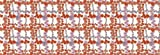 Berlintapete - Wallpaper On Demand - Designtapete - Classic Pattern - Blumengitter Rot Nr. 3537