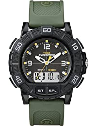 Timex Herren-Armbanduhr Expedition Analog Digital Quarz Kunststoff T49967