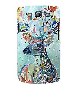 Print Masti Designer Back Case Cover for Samsung Galaxy S3 I9300 :: Samsung I9305 Galaxy S Iii :: Samsung Galaxy S Iii Lte (Painted beautyful Donkey Animal Orignal Oil Painting)