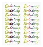 HOBBY-Design Sticker, Einladung ,Regenbogen
