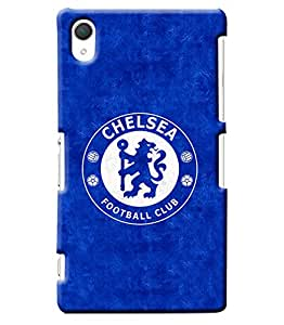 Blue Throat Chelsea Football Club Hard Plastic Printed Back Cover/Case For Sony Xperia Z2