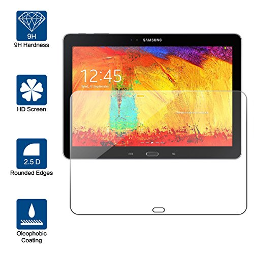 vetro tablet 10.1 Beiuns Vetro temperato Protettiva Protezione protettore Proteggi Schermo per Samsung Galaxy Note 10.1 (2014 Edition)