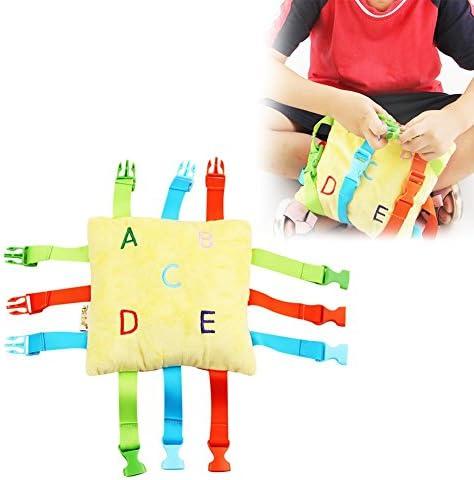 Jouet de boucle de ceinture ceinture ceinture de bébé, apprentissage précoce pour les tout-petits f7584a