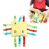 per Juguetes de Hebillas para Bebés Niños Infantiles Juguetes Educativos Preescolares para Niños de 1-3 Años Juguetes Blandos Regalo Infantil
