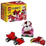 LEGO Classic - Caja Creativa de Color rojo, Juguete de Construcción con Ladrillos de Colores (10707)