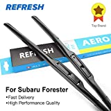 RAISSER® Refresh Wiper Blades for Subaru Forester Fit Hook Arms Model Year from 1997 to 2018