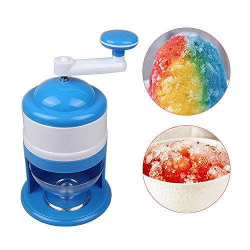 Ice Crusher Maschine, hinmay leicht Mini Ice Rasierer mit Tasse Darm tragbar Cocktal Ice Breaker für Home Küche