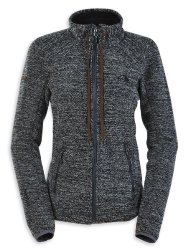 Tatonka Damen Fleecejacke Chester darkest grey