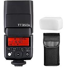 Godox Mini TTL GN36 Hss 1/8000s 2.4GHz Flash Godox TT350 Flash Speedlite (Godox TT350N Camera Flash Speedlite)