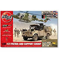 Airfix - Kit con pinturas, figuras British Forces, Patrol and Support Group (Hornby A50123)