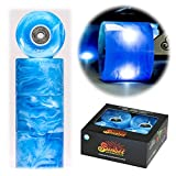 Sunset Flare LED 59mm/78a swirl blue Rollen inkl. Kugellager