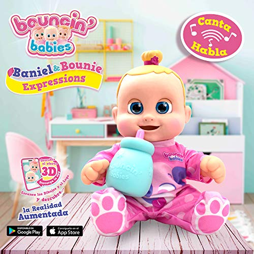 Boucin Babies My Real Buddy Expressions Bounie, (Cife 41658)