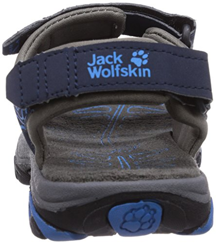 Jack Wolfskin BOYS WATERRAT Jungen Sport- & Outdoor Sandalen Blau (night blue 1010)
