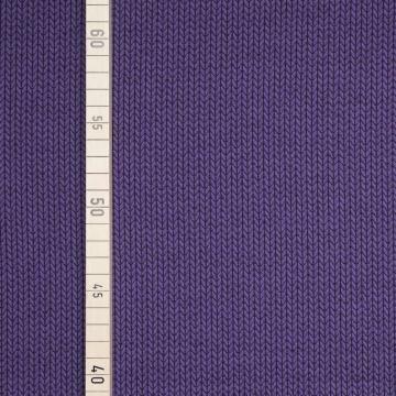 StoffHandwerker Knit Knit Hipster Square - Albstoffe - Lila/Schwarz (Square Hose Kostüm)