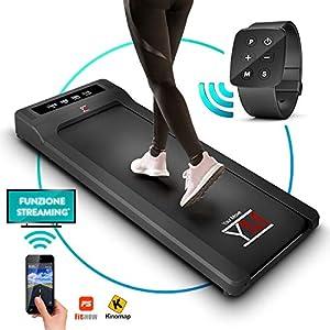 YM Tapis Roulant Elettrico Walking Pad Scrivania App KINOMAP e FITSHOW, Orologio Telecomando Watch Controller… 7 spesavip