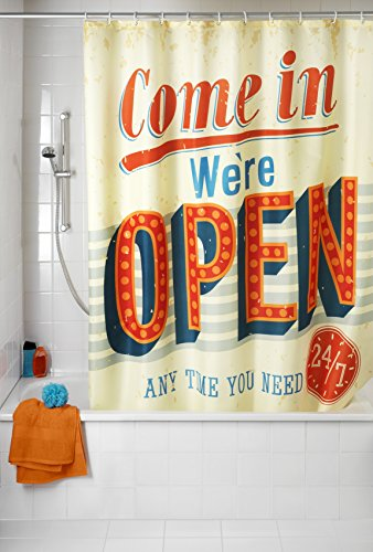 Duschvorhang Vintage Open – 180 x 200 cm – Wenko - 2