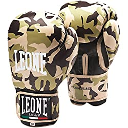 León 1947camuflaje guantes, Unisex adulto, Camouflage, Marrone Mimetico, 10 Oz