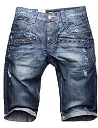 Cipo & Baxx C-106 Herren Jeans Denim Shorts Bermuda
