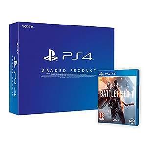 PlayStation 4 500 Gb C Chassis (Ricondizionato Certificato) + Battlefield 1