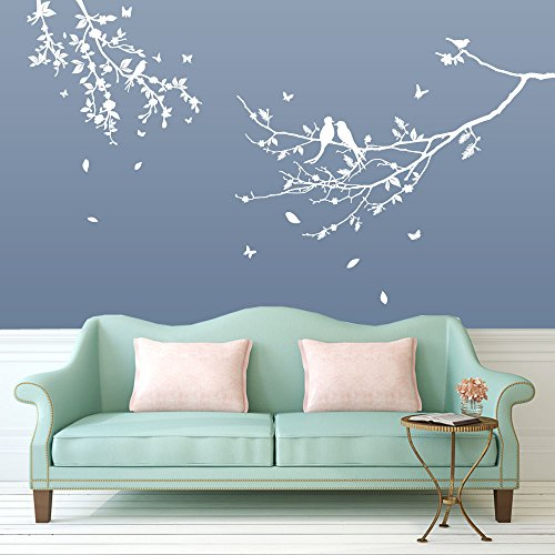 Bird U0026 Tree Wall Decorations Window Stickers Wall Decor Wall Stickers Wall  Art Wall Decals Stickers Wall Decal Decals Mural Décor Diy Deco Removable  Wall ...