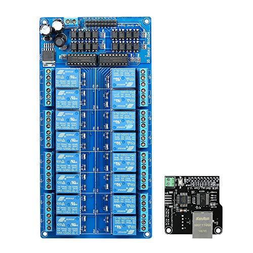KKmoon Ethernet-Steuermodul LAN WAN-Netzwerk Web-Server IP-TCP-RJ45-Port +...